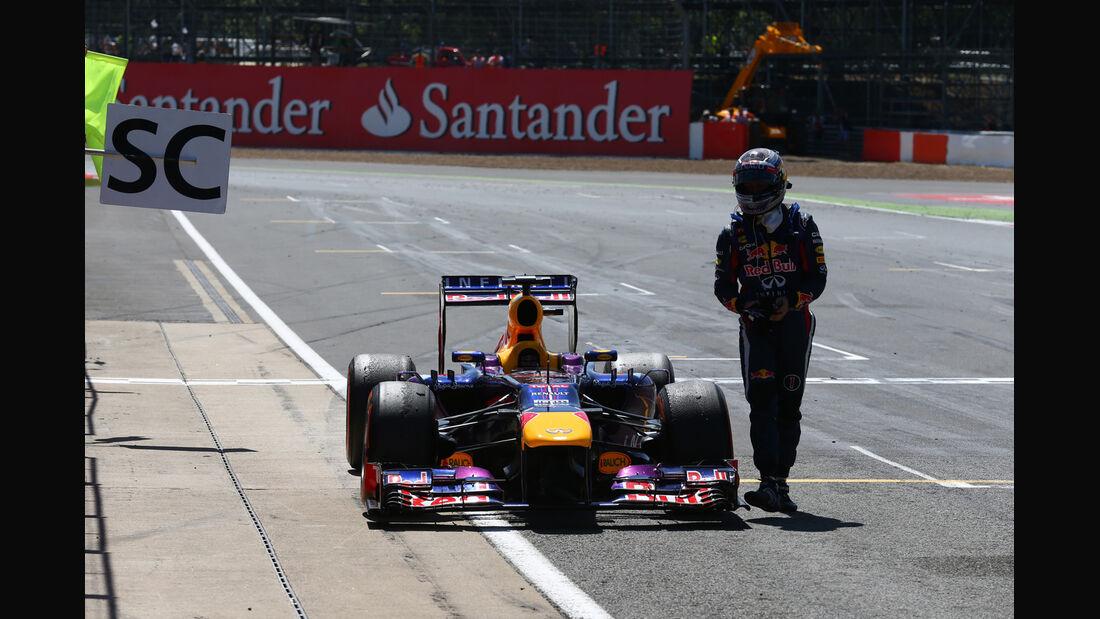 Sebastian Vettel GP England 2013
