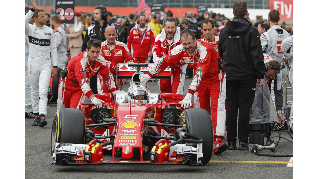 Sebastian Vettel - GP England 2016