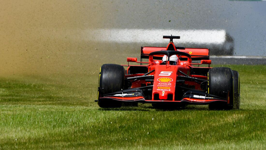 Sebastian Vettel - GP England 2019