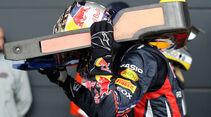 Sebastian Vettel - GP England - Qualifying - 9. Juli 2011