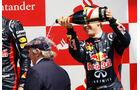 Sebastian Vettel GP England Silverstone 2012