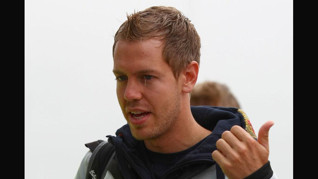 Sebastian Vettel - GP England - Training - Silverstone - 8. Juli 2011