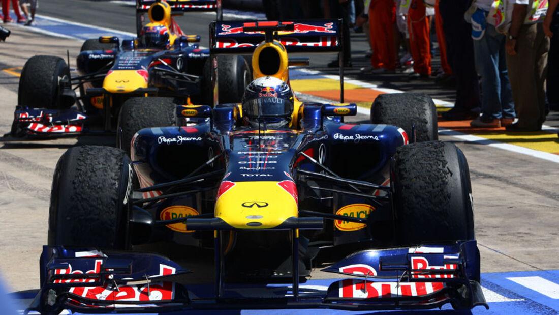 Sebastian Vettel GP Europa Valencia 2011