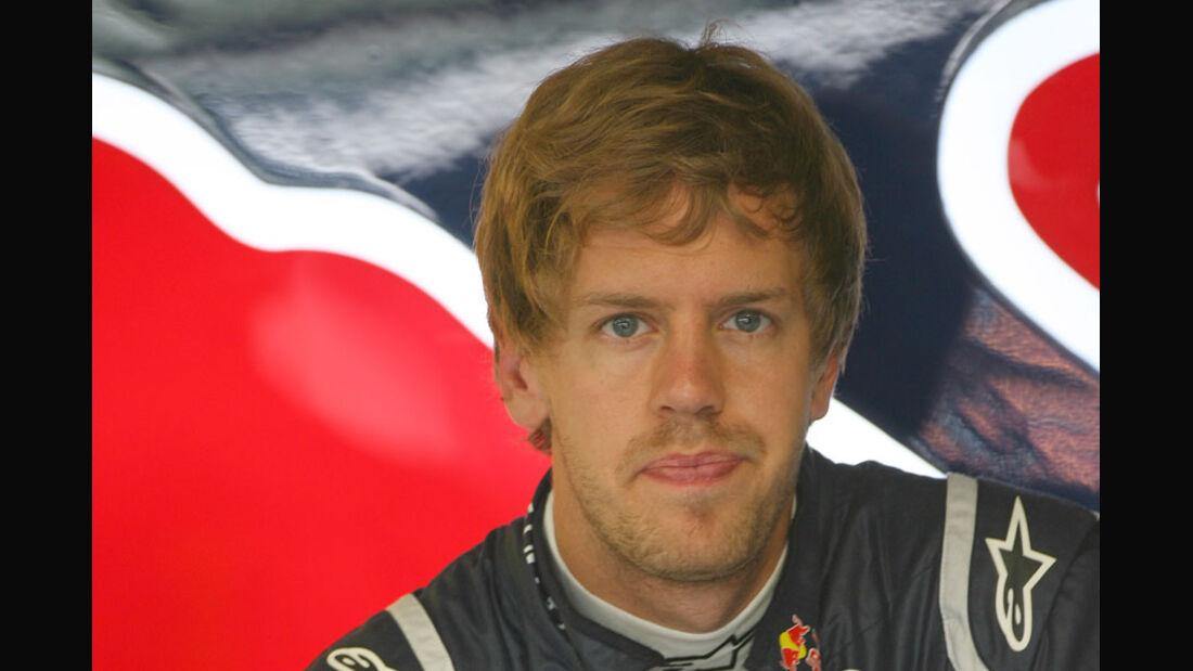 Sebastian Vettel - GP Europa Valencia 2011