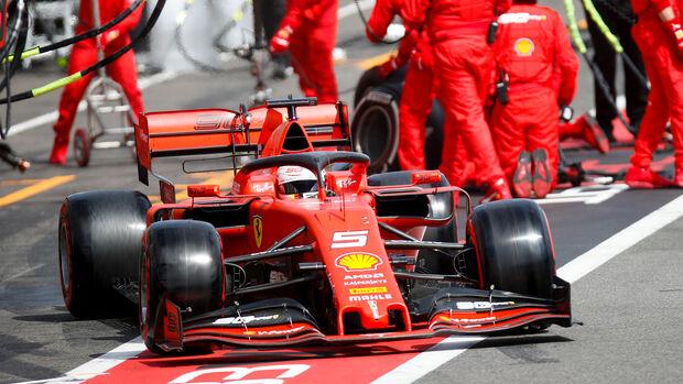 Sebastian Vettel - GP Frankreich 2019