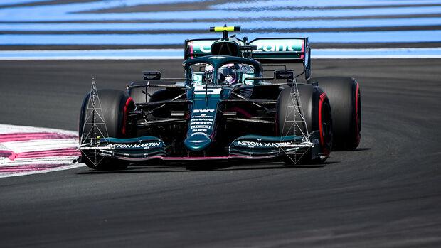 Sebastian Vettel - GP Frankreich 2021