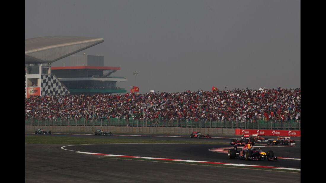 Sebastian Vettel GP Indien 2011