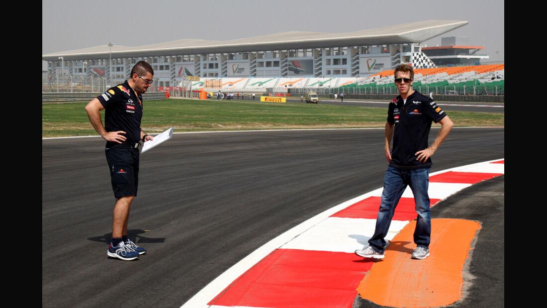 Sebastian Vettel - GP Indien - 27.10.2011