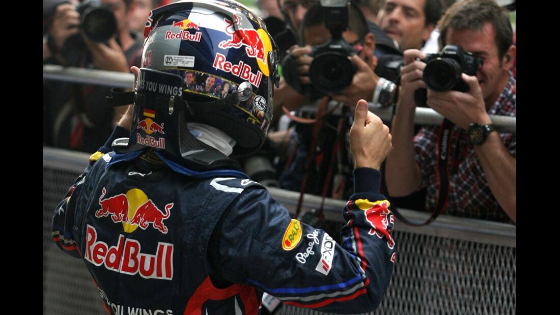 Sebastian Vettel - GP Indien - Delhi - 29.10.2011
