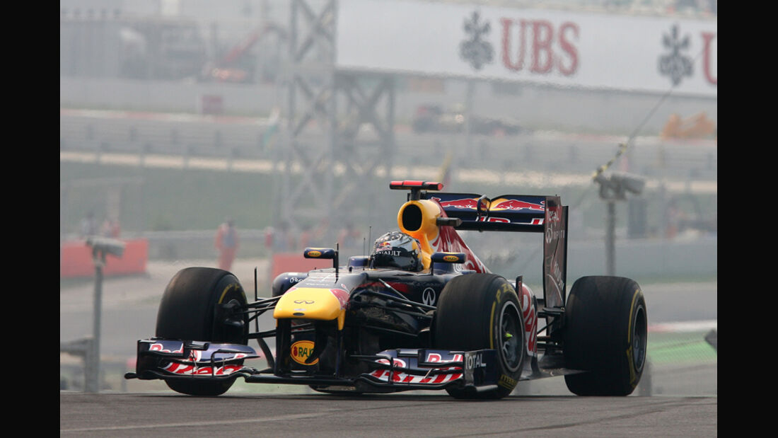 Sebastian Vettel - GP Indien - Training - 28.10.2011