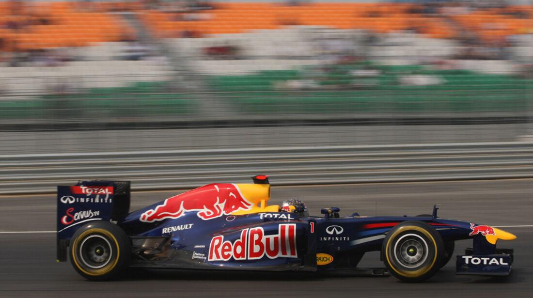 Sebastian Vettel - GP Indien - Training - 28.10.2011