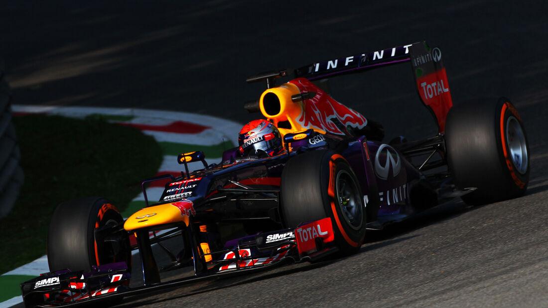 Sebastian Vettel GP Italien 2013