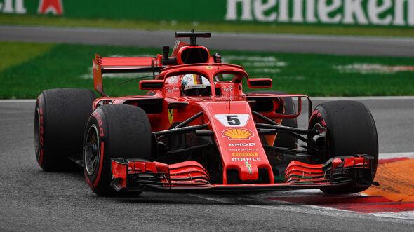 Sebastian Vettel - GP Italien 2018