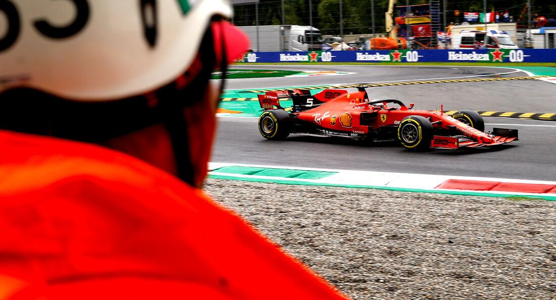 Sebastian Vettel - GP Italien - 2019