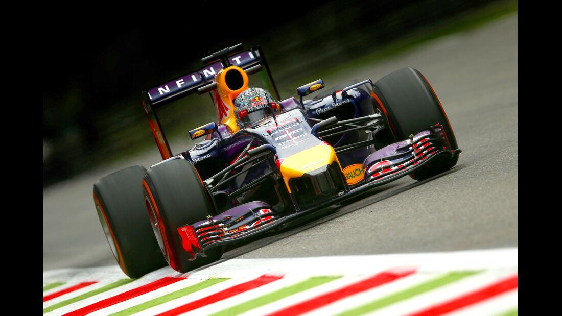Sebastian Vettel - GP Italien - Formel 1 - GP Italien - 5. September 2014
