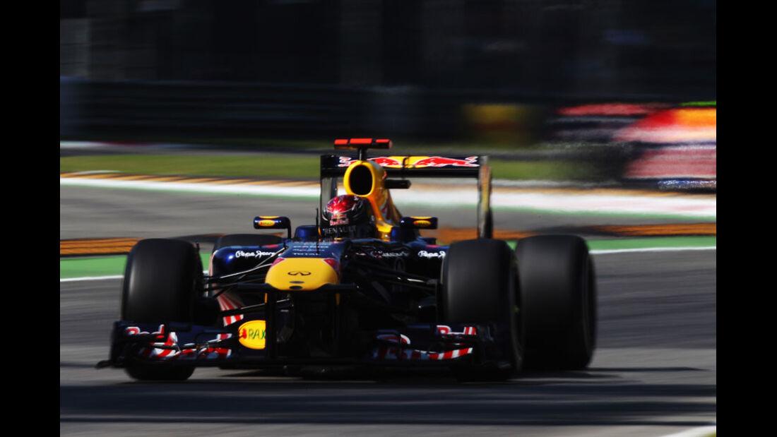 Sebastian Vettel - GP Italien - Monza - 9. September 2011