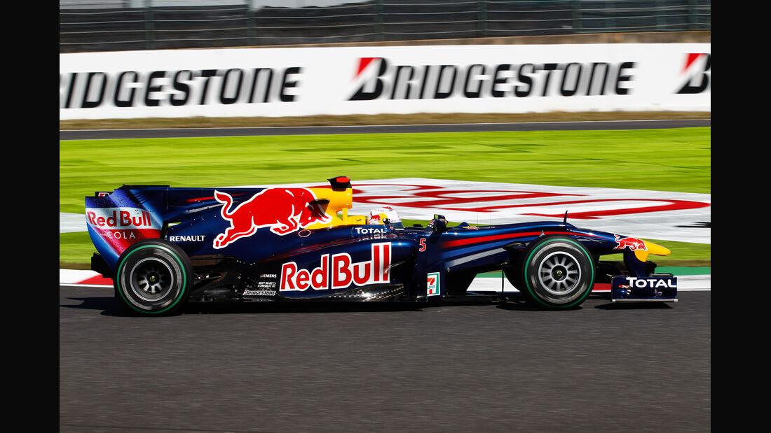 Sebastian Vettel GP Japan 2010
