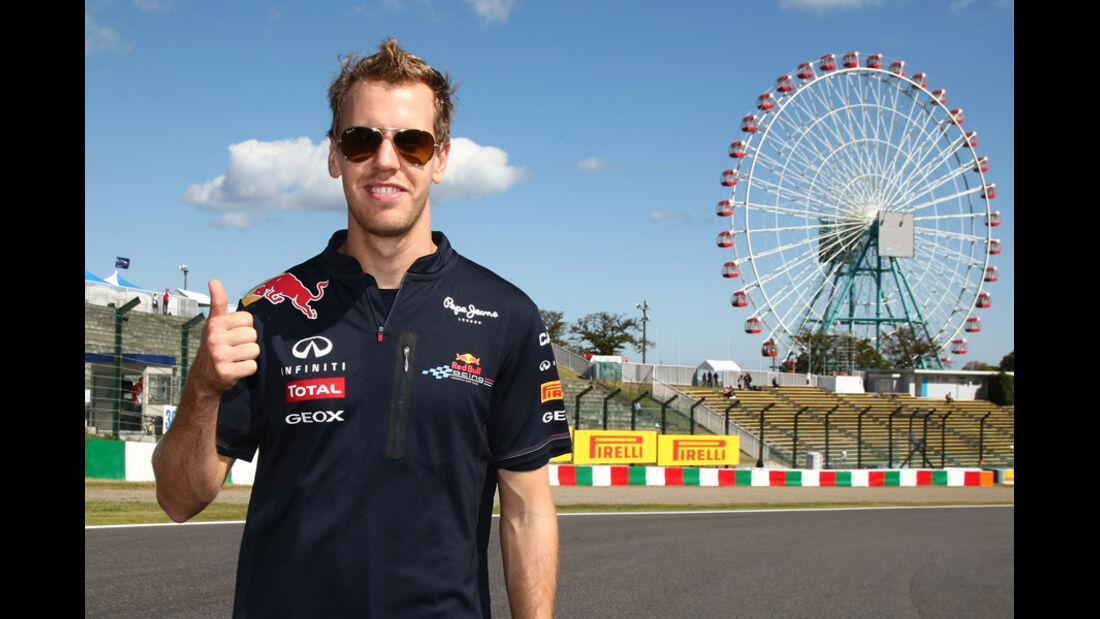 Sebastian Vettel - GP Japan - Suzuka - 6. Oktober 2011