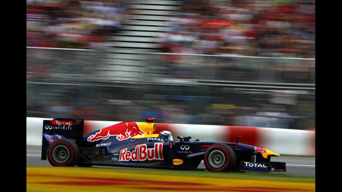 Sebastian Vettel GP Kanada 2011