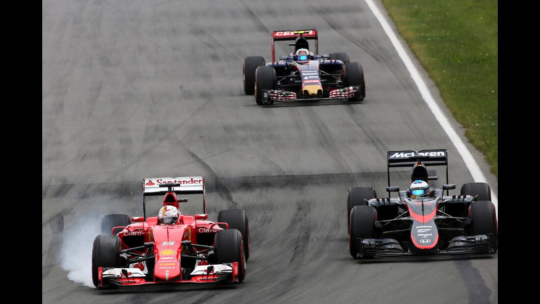 Sebastian Vettel - GP Kanada 2015