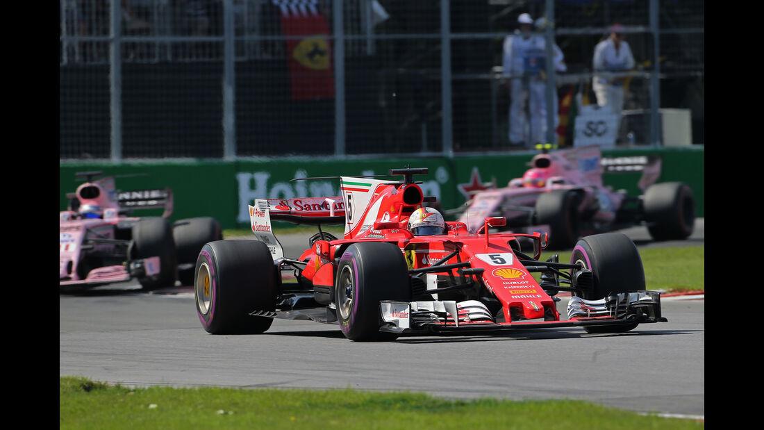 Sebastian Vettel - GP Kanada 2017