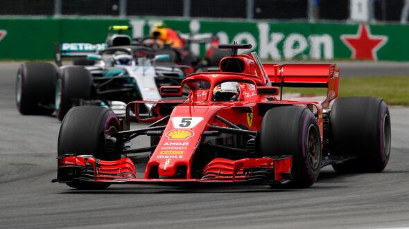 Sebastian Vettel - GP Kanada 2018
