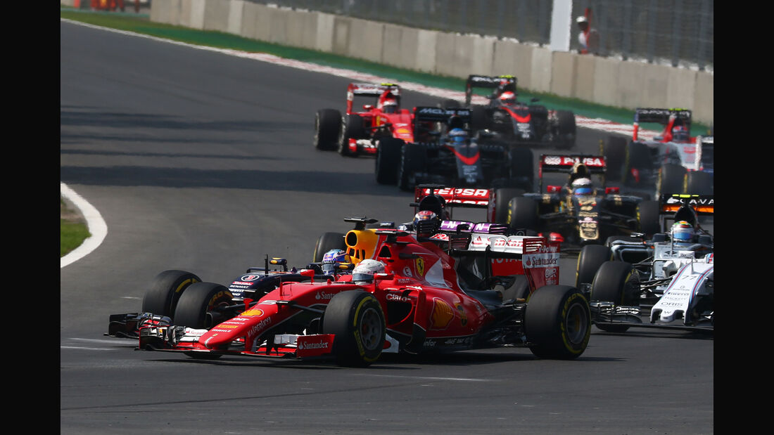 Sebastian Vettel - GP Mexiko 2015