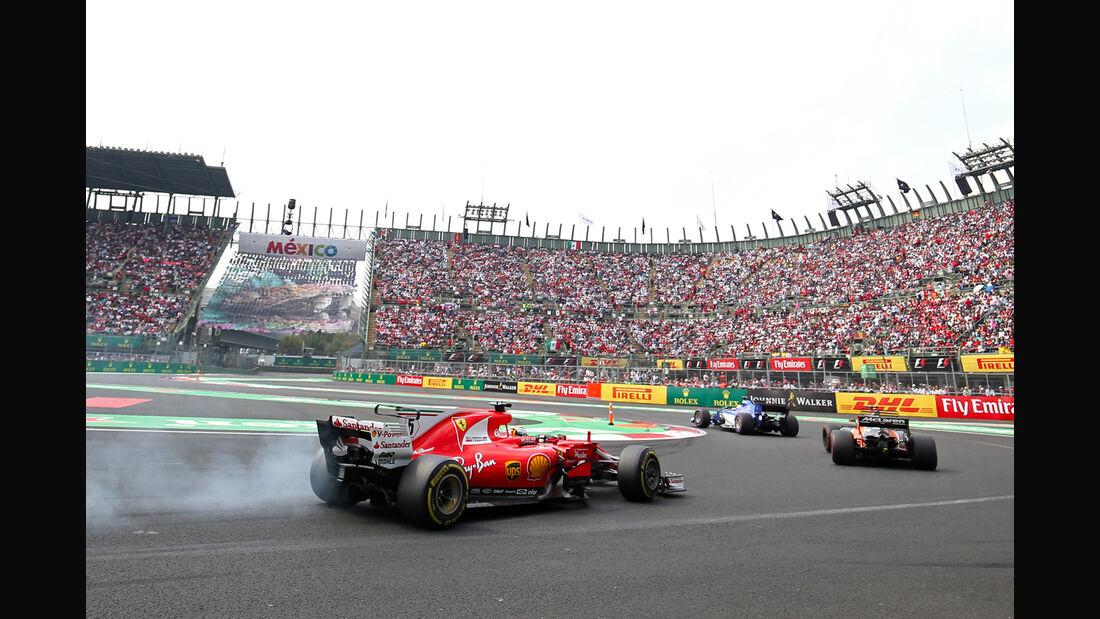 Sebastian Vettel - GP Mexiko 2017