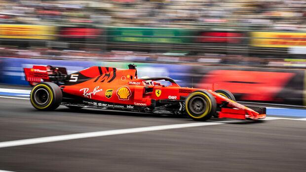 Sebastian Vettel - GP Mexiko 2019