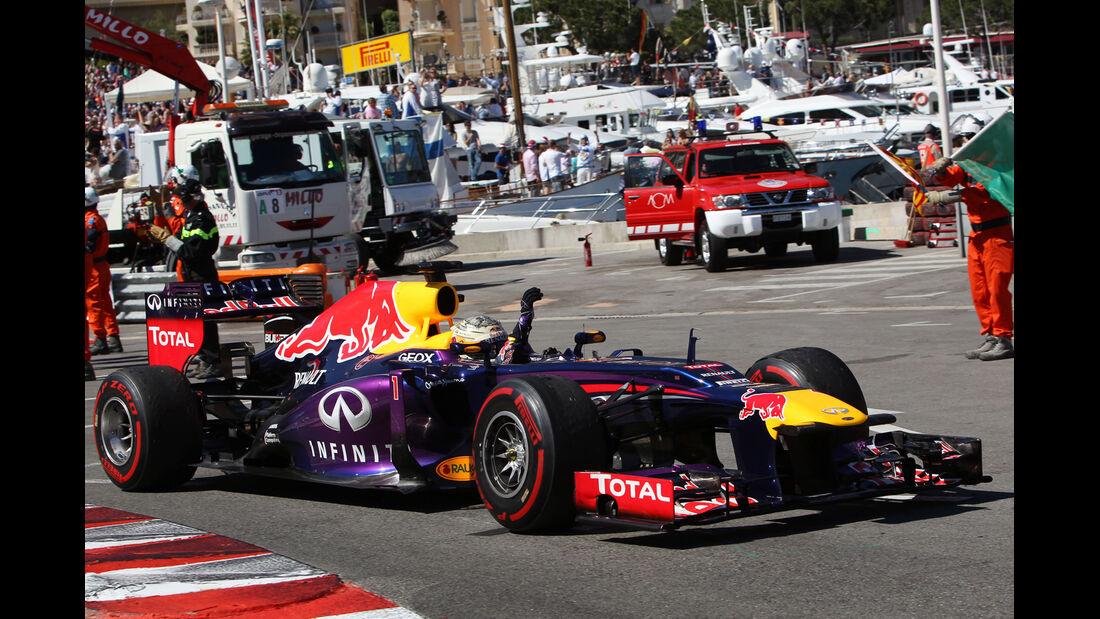 Sebastian Vettel - GP Monaco 2013