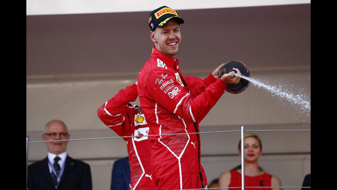 Sebastian Vettel - GP Monaco 2017