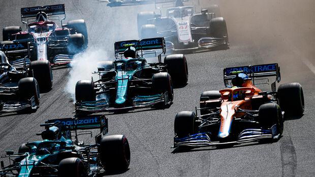 Sebastian Vettel - GP Niederlande - Formel 1 - 5. September 2021