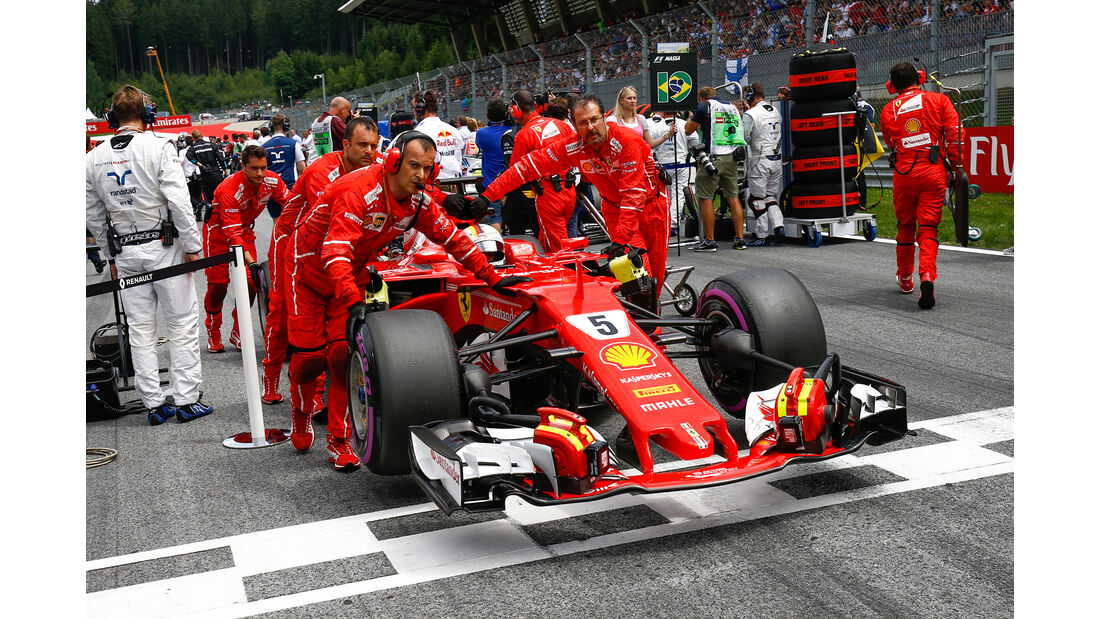 Sebastian Vettel - GP Österreich 2017