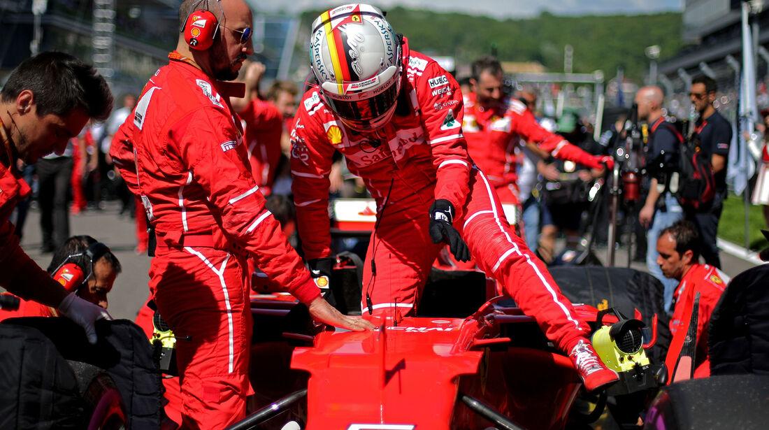 Sebastian Vettel - GP Russland 2017
