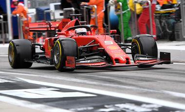 Sebastian Vettel - GP Russland 2019
