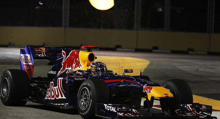 Sebastian Vettel GP Singapur 2010