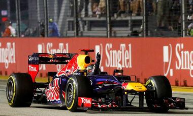 Sebastian Vettel - GP Singapur 2012