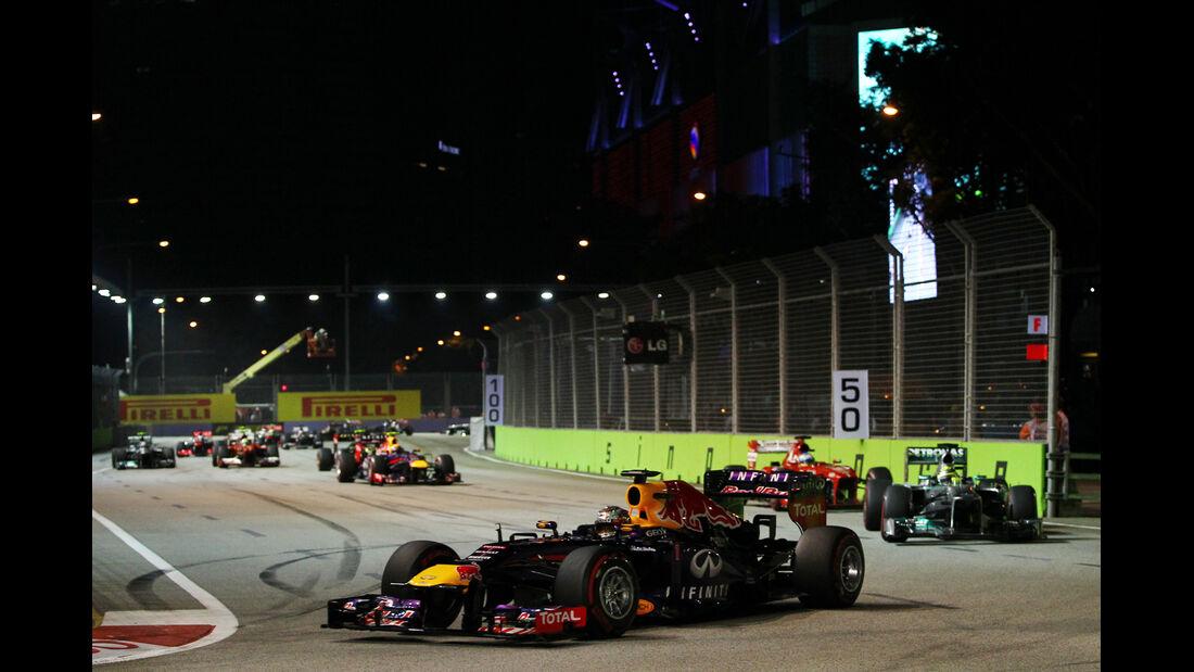Sebastian Vettel - GP Singapur 2013