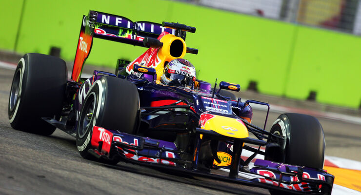 Sebastian Vettel GP Singapur 2013