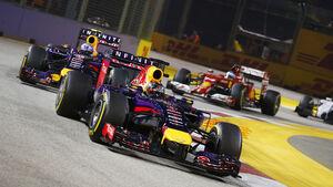 Sebastian Vettel - GP Singapur 2014