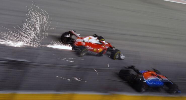 Sebastian Vettel - GP Singapur 2016