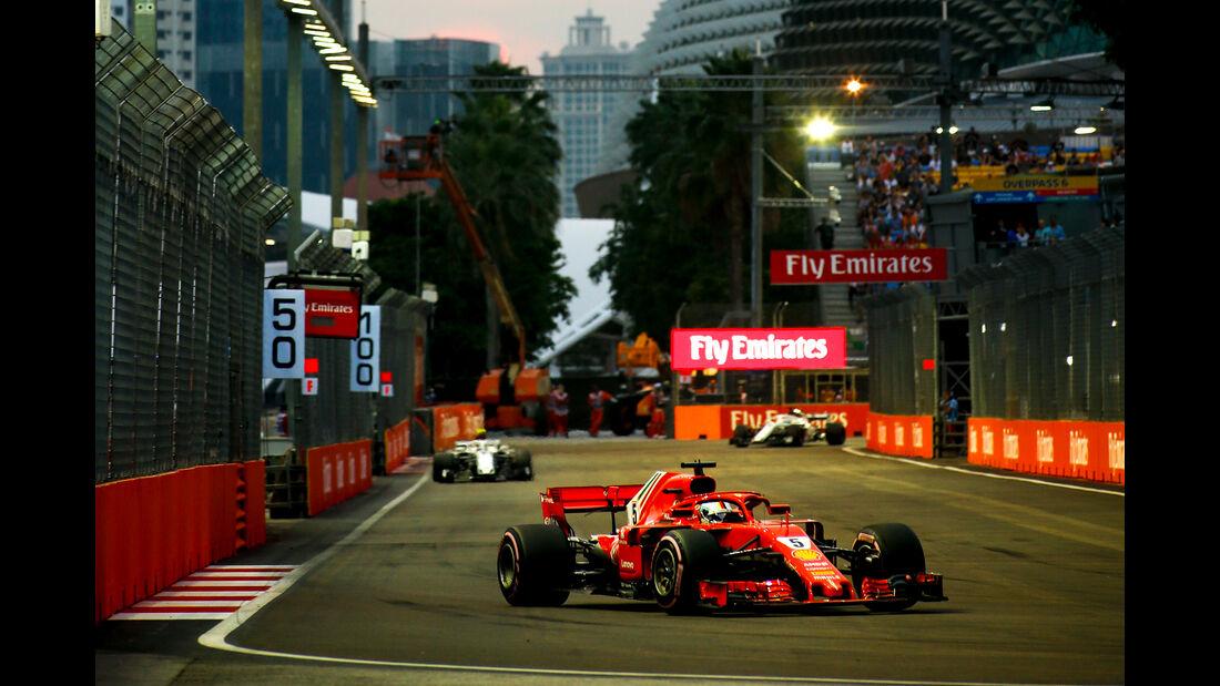 Sebastian Vettel - GP Singapur 2018