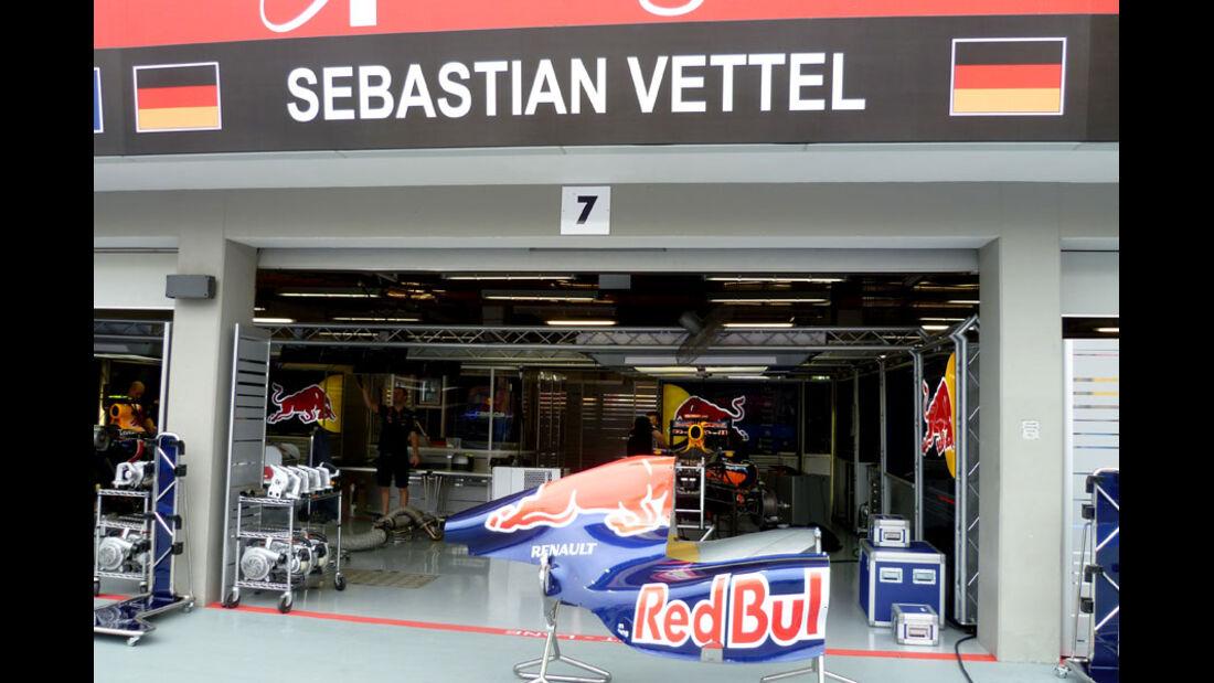 Sebastian Vettel - GP Singapur - 22. September 2011
