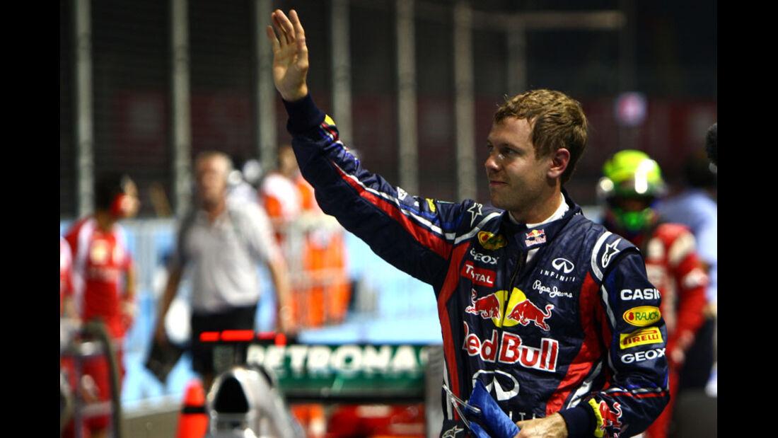 Sebastian Vettel - GP Singapur - 24. September 2011