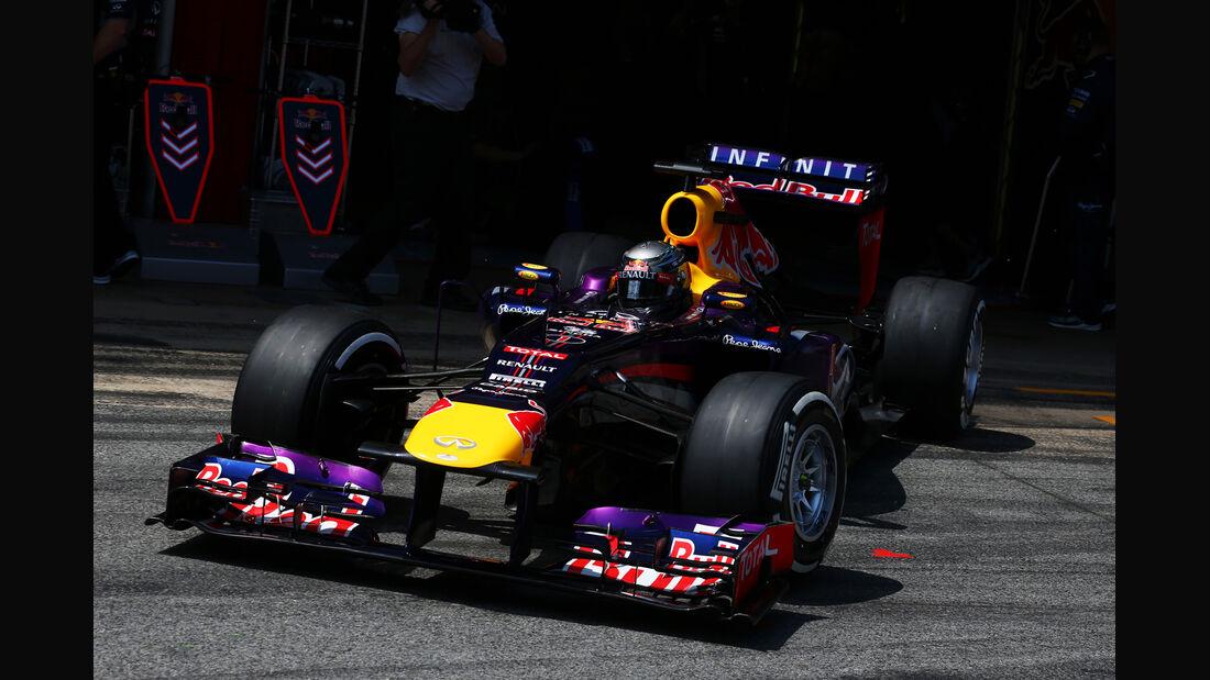 Sebastian Vettel GP Spanien 2013