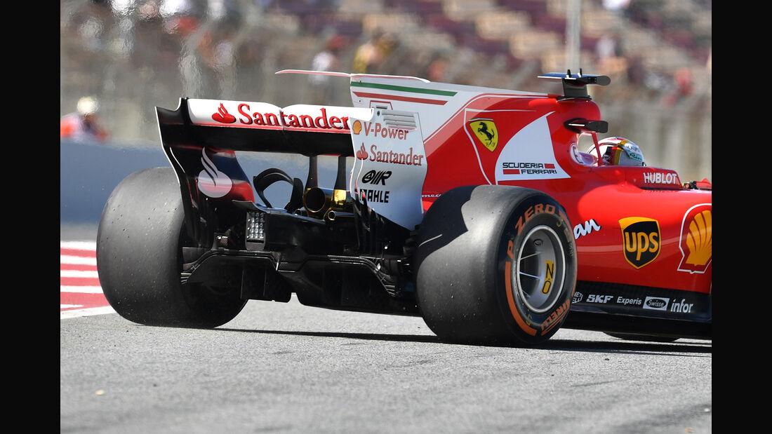 Sebastian Vettel - GP Spanien 2017
