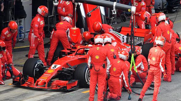 Sebastian Vettel - GP Spanien 2018