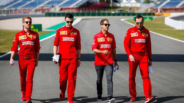 Sebastian Vettel - GP Spanien 2019