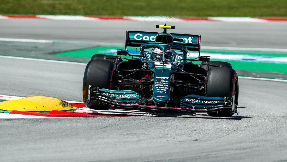 Sebastian Vettel - GP Spanien 2021