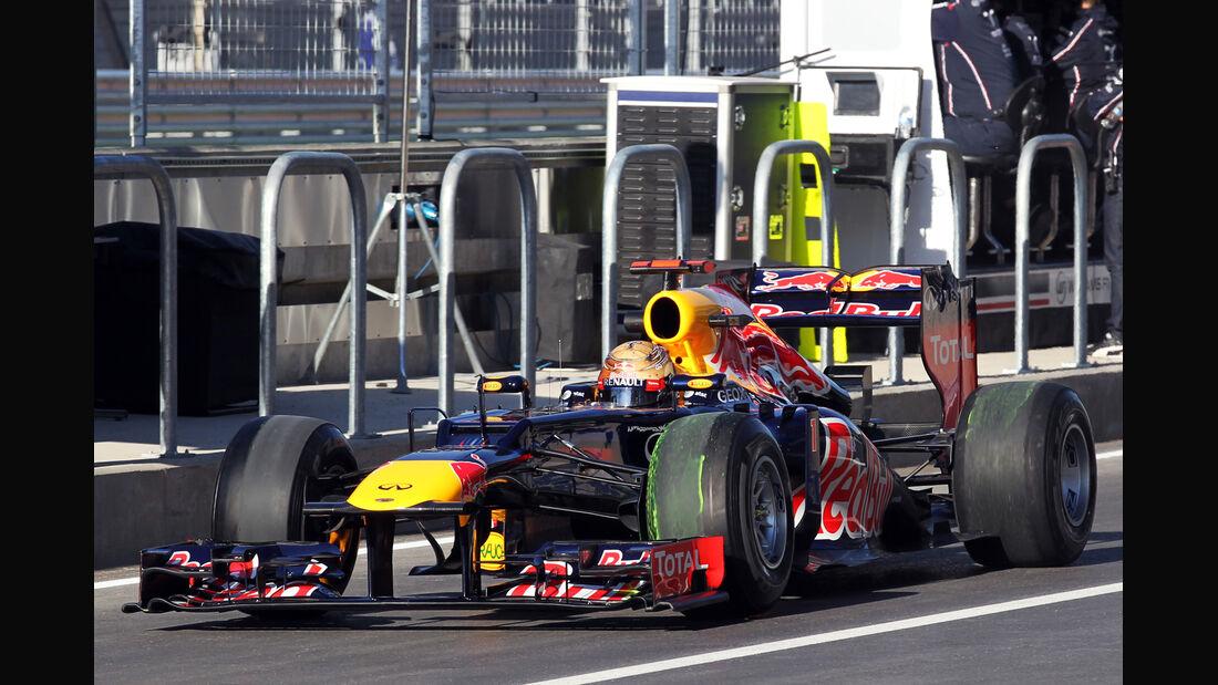 Sebastian Vettel GP USA 2012